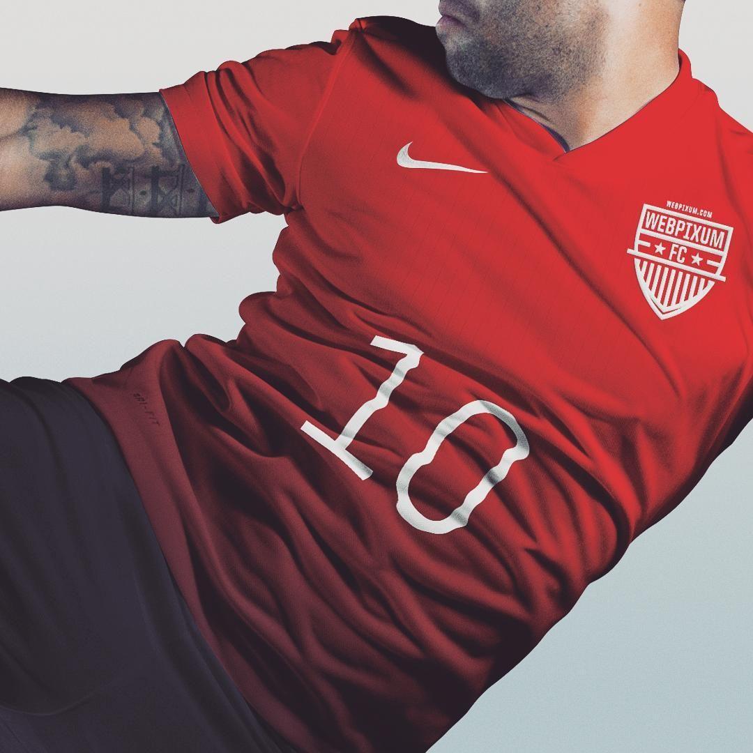 Download Customizable Full Soccer Kit Mockup Psd