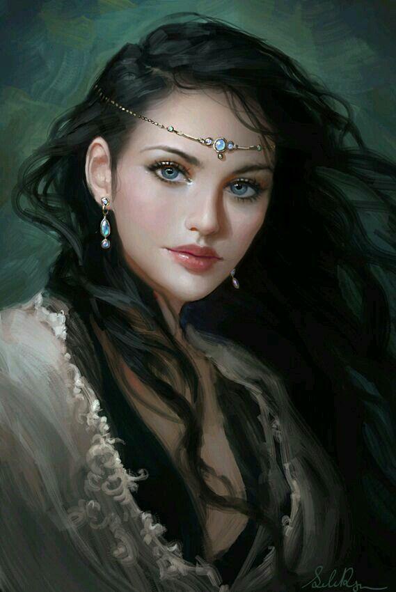 Pretty female fantasy art concept art and inspiration pretty female fantasy art voltagebd Images