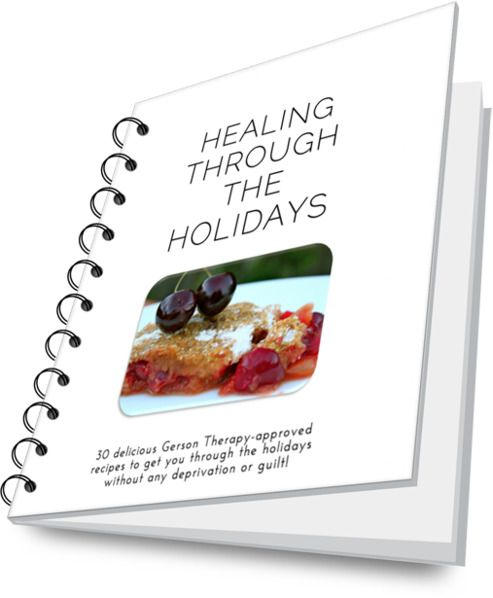 gerson therapy recipe book pdf