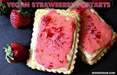 House Vegan: Homemade Strawberry Poptarts
