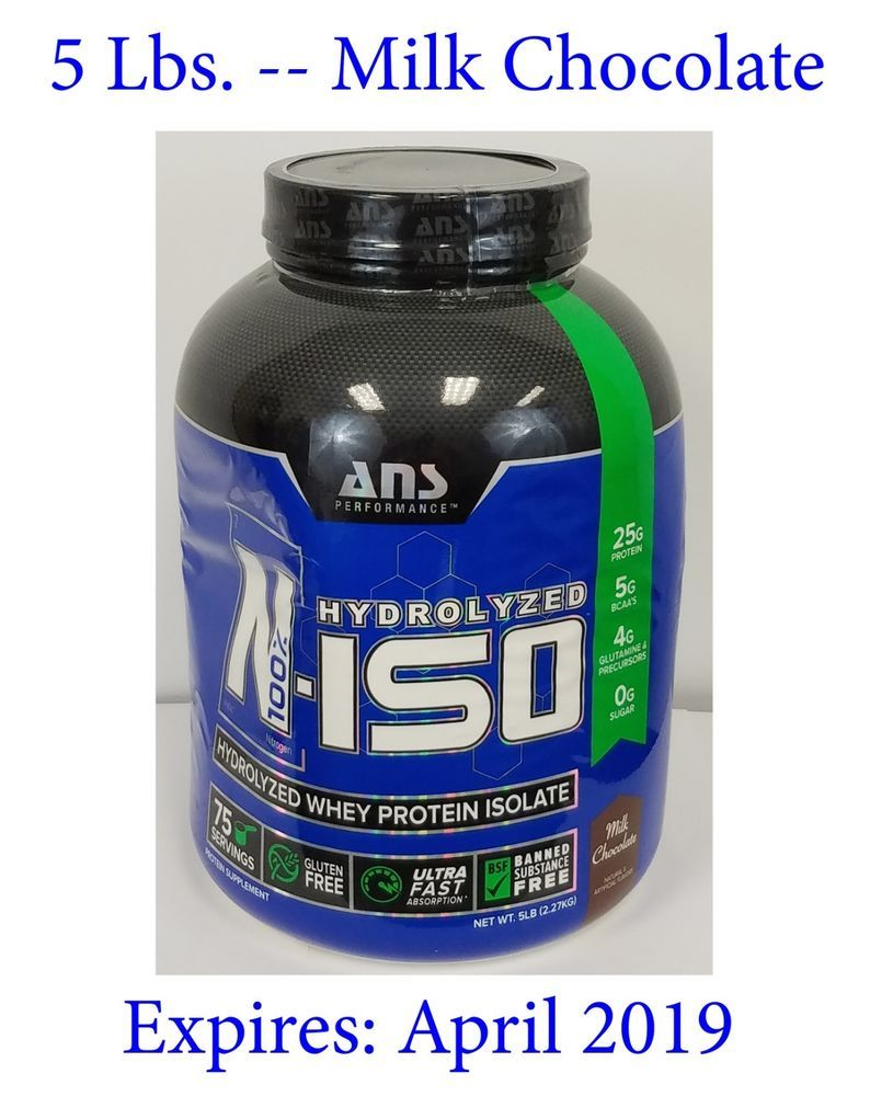 Ans performance niso hydrolyzed whey protein isolate milk