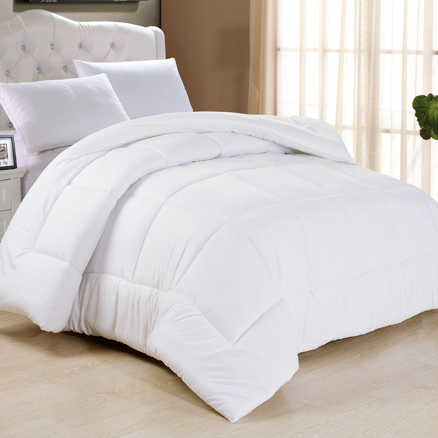 All Season Classic Light Warmth Down Alternative Comforter Bed Comforters Luxury Bedding Down Comforter