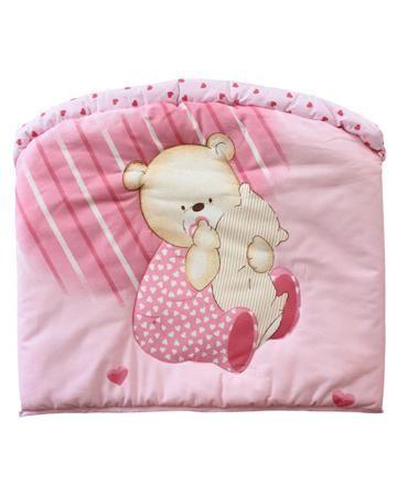 Золотой гусь Мишутка розовый Золотой Гусь  — 1112р. ------------ Розовый бампер Мишутка Золотой Гусь именно та вещь, которая защищая от случайных сквозняков, обеспечивает комфорт в кроватке.