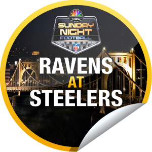 Sunday Night Football Ravens at Steelers (With images