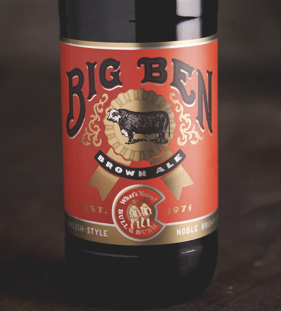 Bull Bush Brewery Beer Design Beer Label Design Brewery