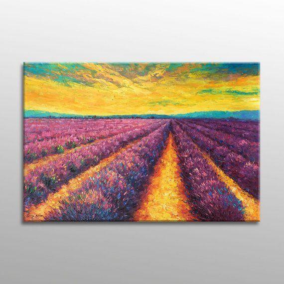 Oil Painting, Large Canvas Art, Large Landscape Painting