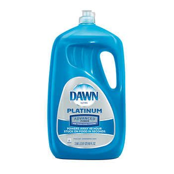Dawn Platinum Advanced Power Dishwashing Liquid 90 Fl Oz Fresh Scentpowers Away 48 Hour Stuck On Food In S