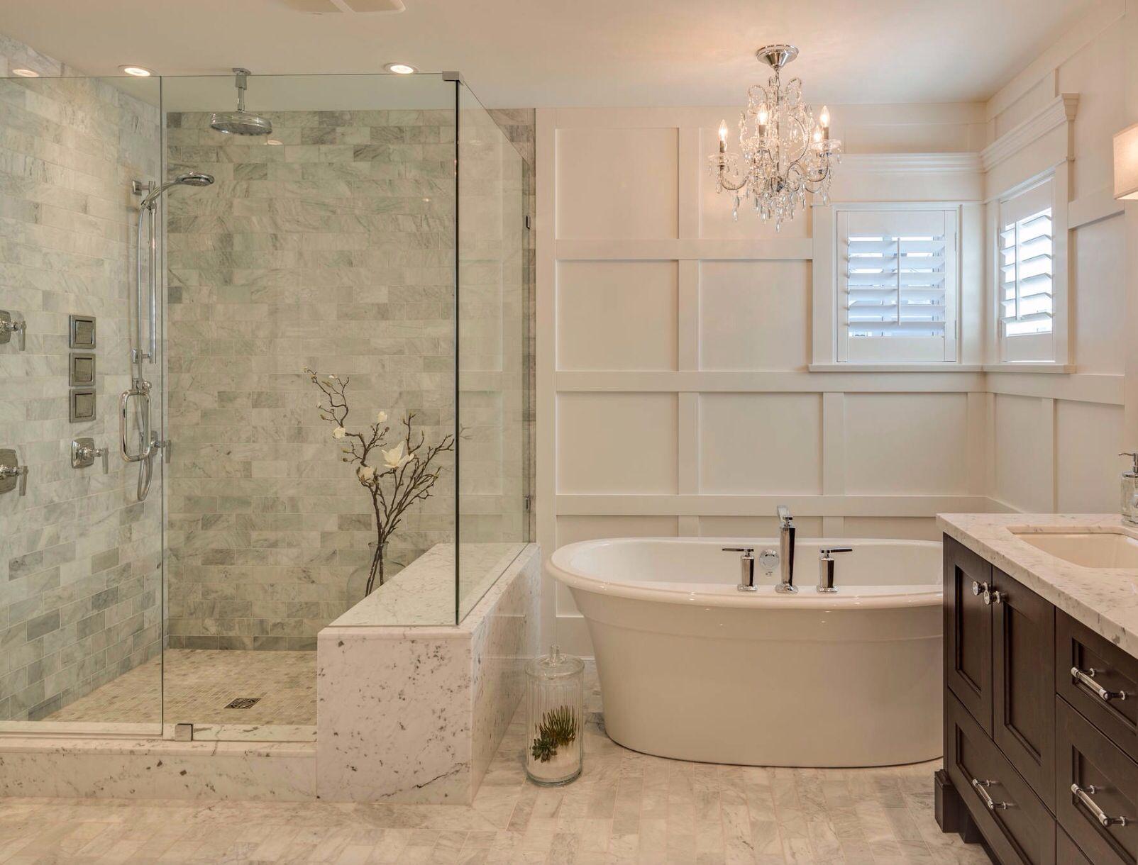 Lichte Badkamer Met Marmer Bathroom Remodel Designs