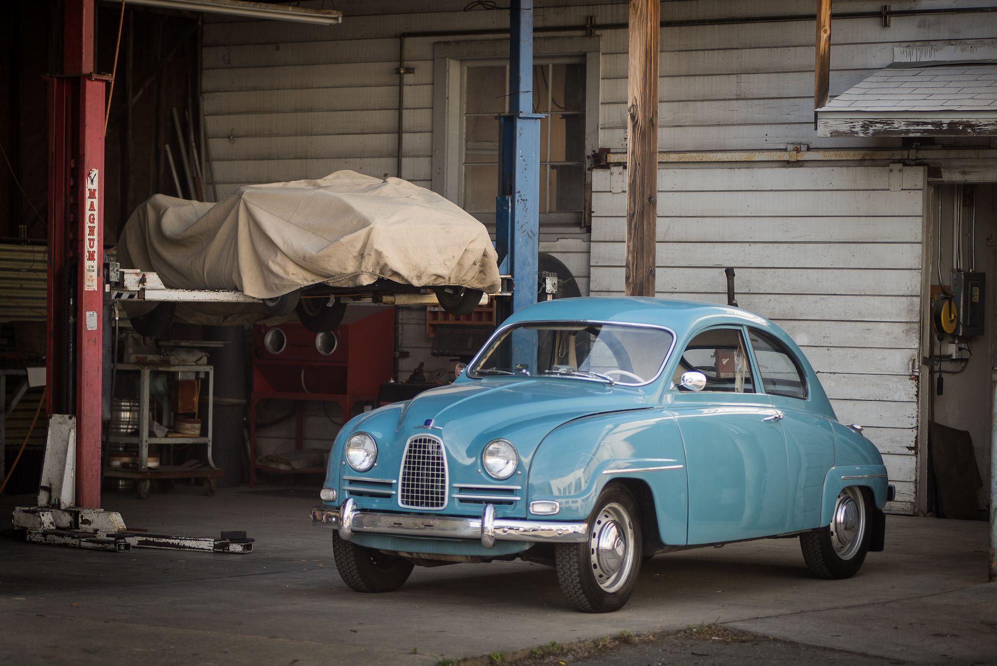 1960 saab 93f Auto
