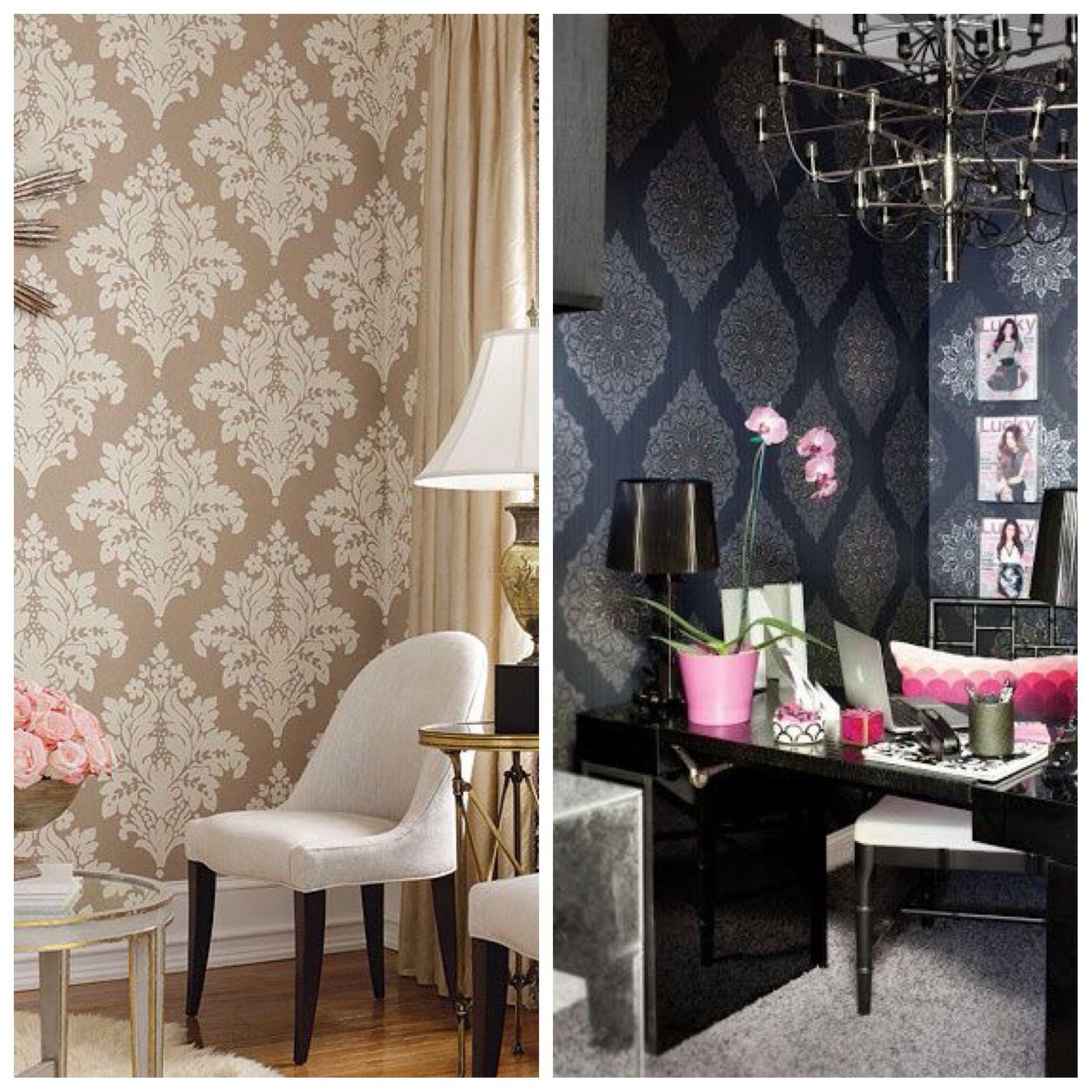decorar con papel tapiz | HOGAR | Pinterest | Papel tapiz, Tapices y ...