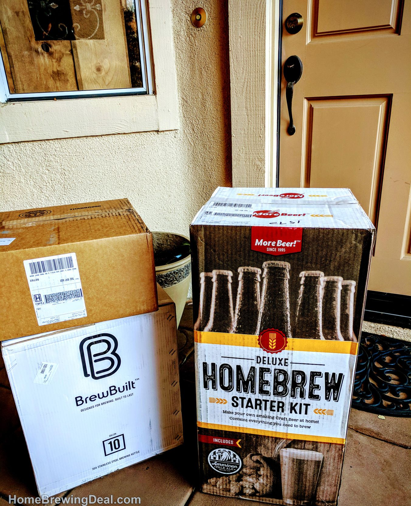 The Perfect Gift for any guy this Holiday Season! Complete Home Beer Brewing Kit. #beer #brewing #homebrew #homebrewing #home #craftbeer #kit #beer # brewing ...