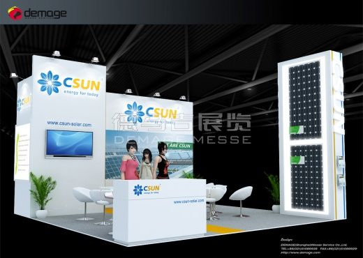 Exhibition Hall Booth : Csun malaysia english booth design csun nanjing pv co. ltd