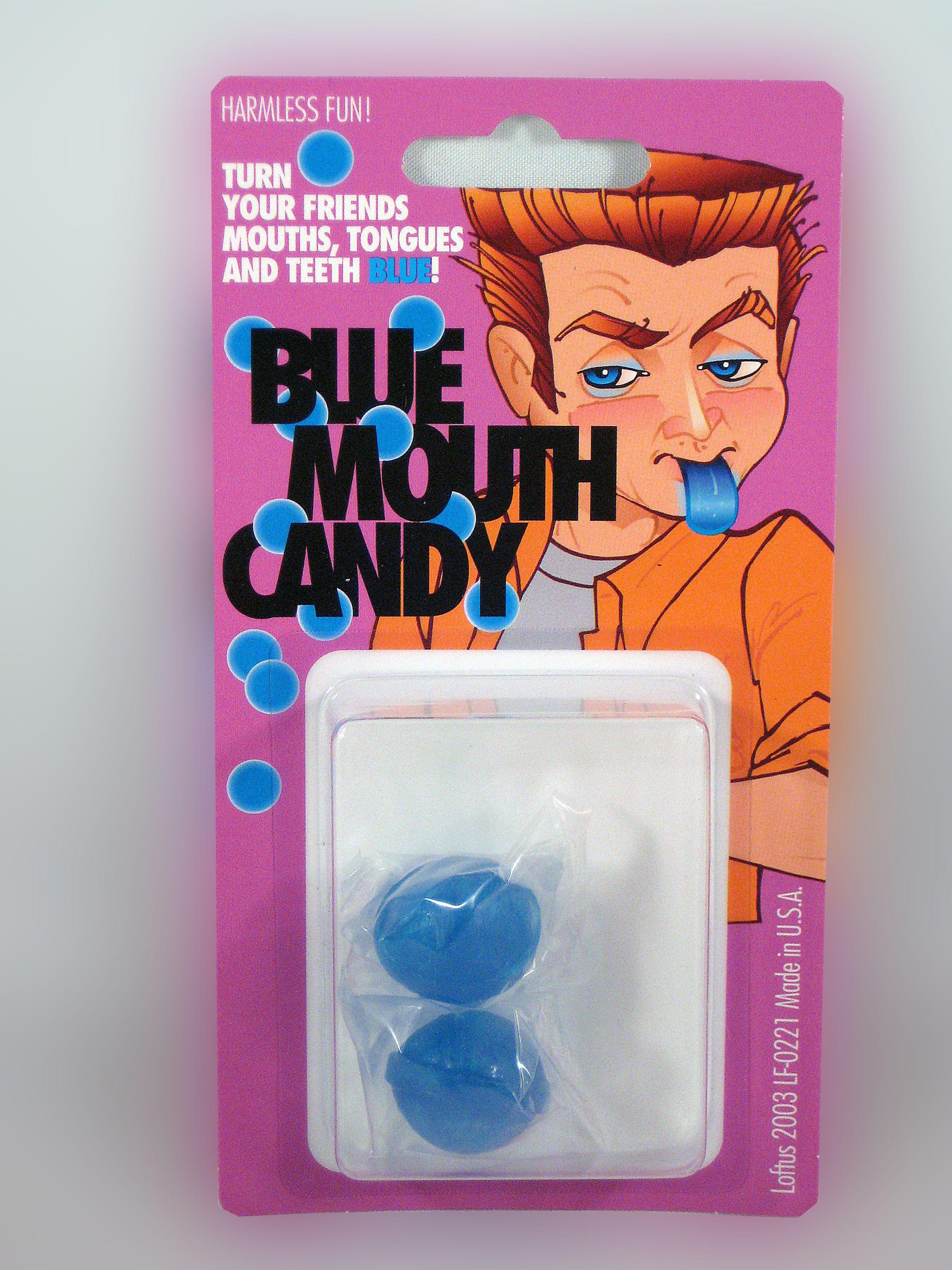 Blue Mouth Candy Funny April Fools Pranks School Pranks Pranks