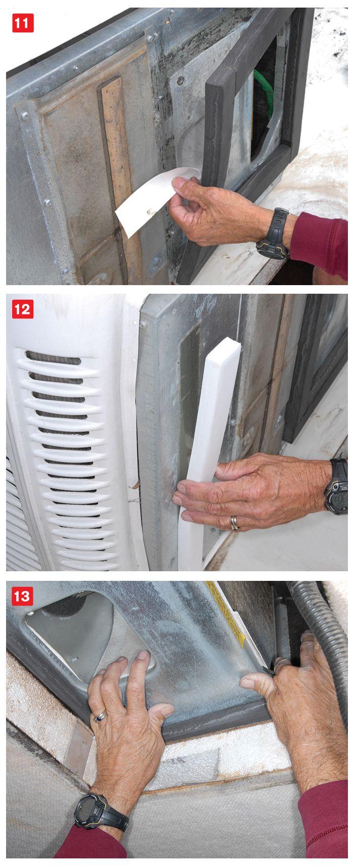 Roof Air Leak Repair Leak repair, Camping air