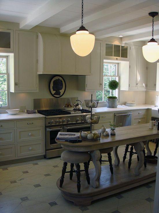The Zhush Southern Charm Love The Floor Kitchen Home Kitchens