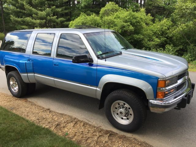 1994 Suburban Custom 2500 3500 6 5 Turbo Diesel 4x4 1 Owner 99k Diesel Trucks Gm Trucks Chevy Silverado For Sale