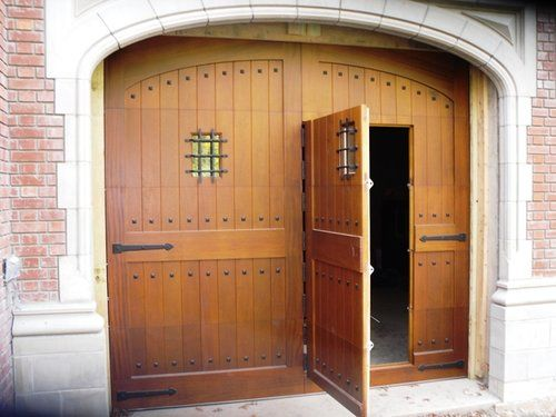 Wicket Door & Wicket Door | cosas de fierro | Pinterest | Security gates Wood ...