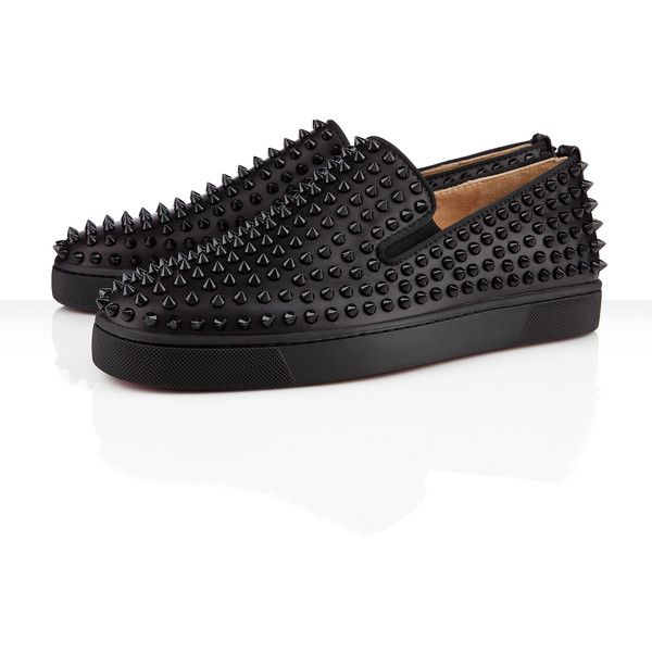 7daa29d267a ... loafers flat shoes black b5636 3c657  norway christian louboutin roller  boat mens flat 995 liked on polyvore featuring 1b515 992c5