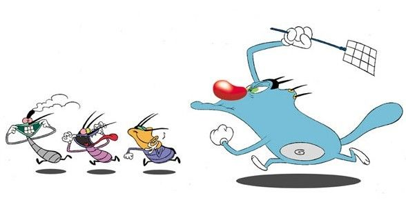 Play Oggy games on httpoggygamesonlinecom  Oggy and the