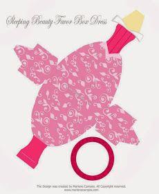 Ideas y material gratis para fiestas y celebraciones Oh My Fiesta!: Linda Caja de Aurora para imprimir gratis.