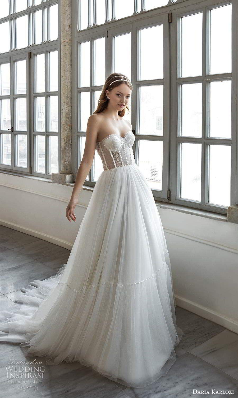 Daria karlozi 2021 wedding dresses sunlight bridal