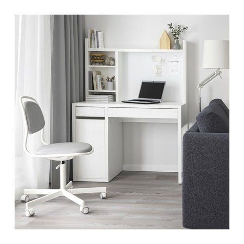 Micke Desk White 105x50 Cm Shop Here Ikea Micke Desk Ikea Micke Desk Ikea Micke