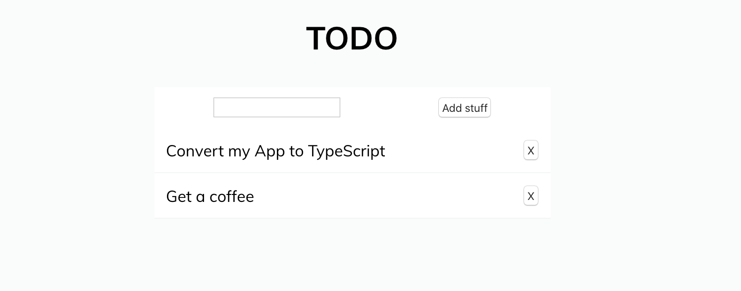 Convert Your Javascript React App to TypeScript, the Easy