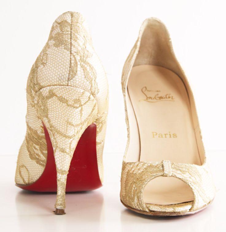 Yeah, because its Loubies. . . heels