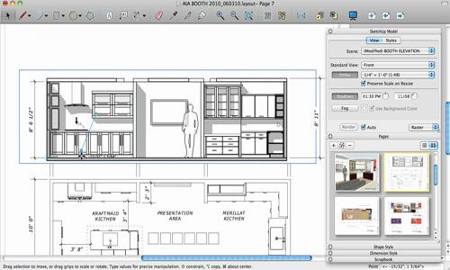 Working With Sketchup Layout Allows You To Maintain A Smooth Flow