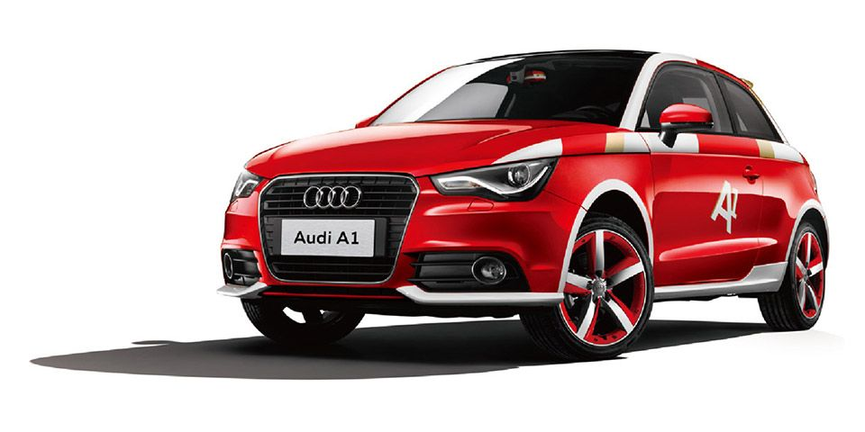 New China Limited Edition Audi A1 For Chinese Market Fourtitude