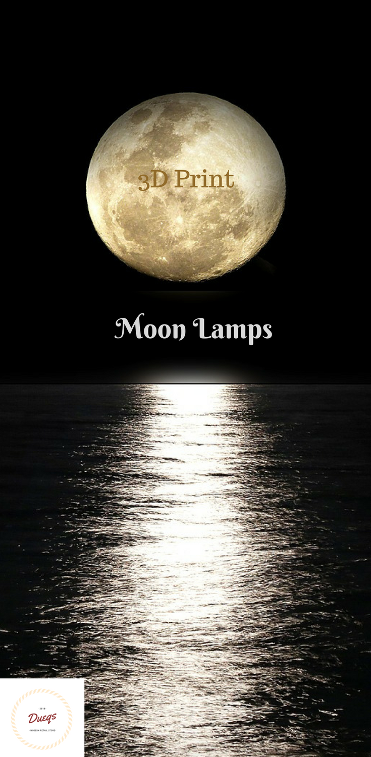 Click To Purchase Your 3d Print Moon Lamp The Moon Has Been A Divine And Enchanting Symbol In Human History And It Brings You Mystery Print Lamp 3d Printing