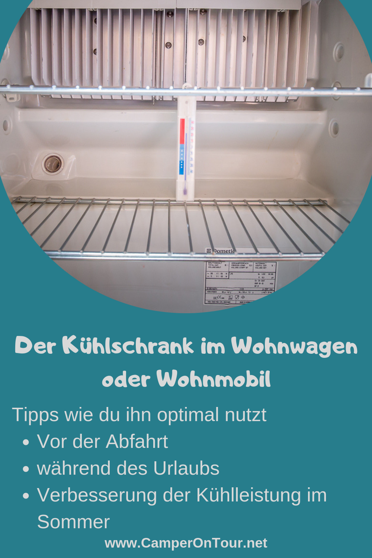 Ratgeber - Kühlschrank im Wohnwagen oder Wohnmobil  #wohnwagen