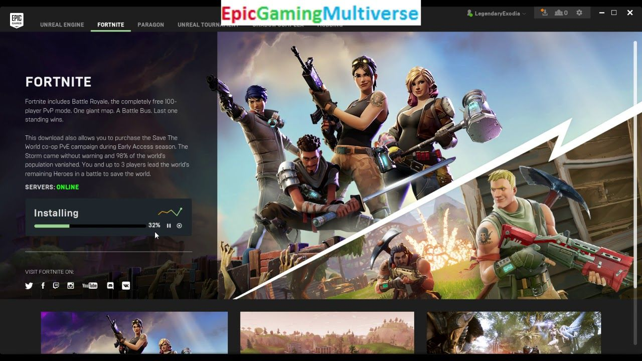 Pin by EpicContentCreator on My Pins | Epic games fortnite, Epic