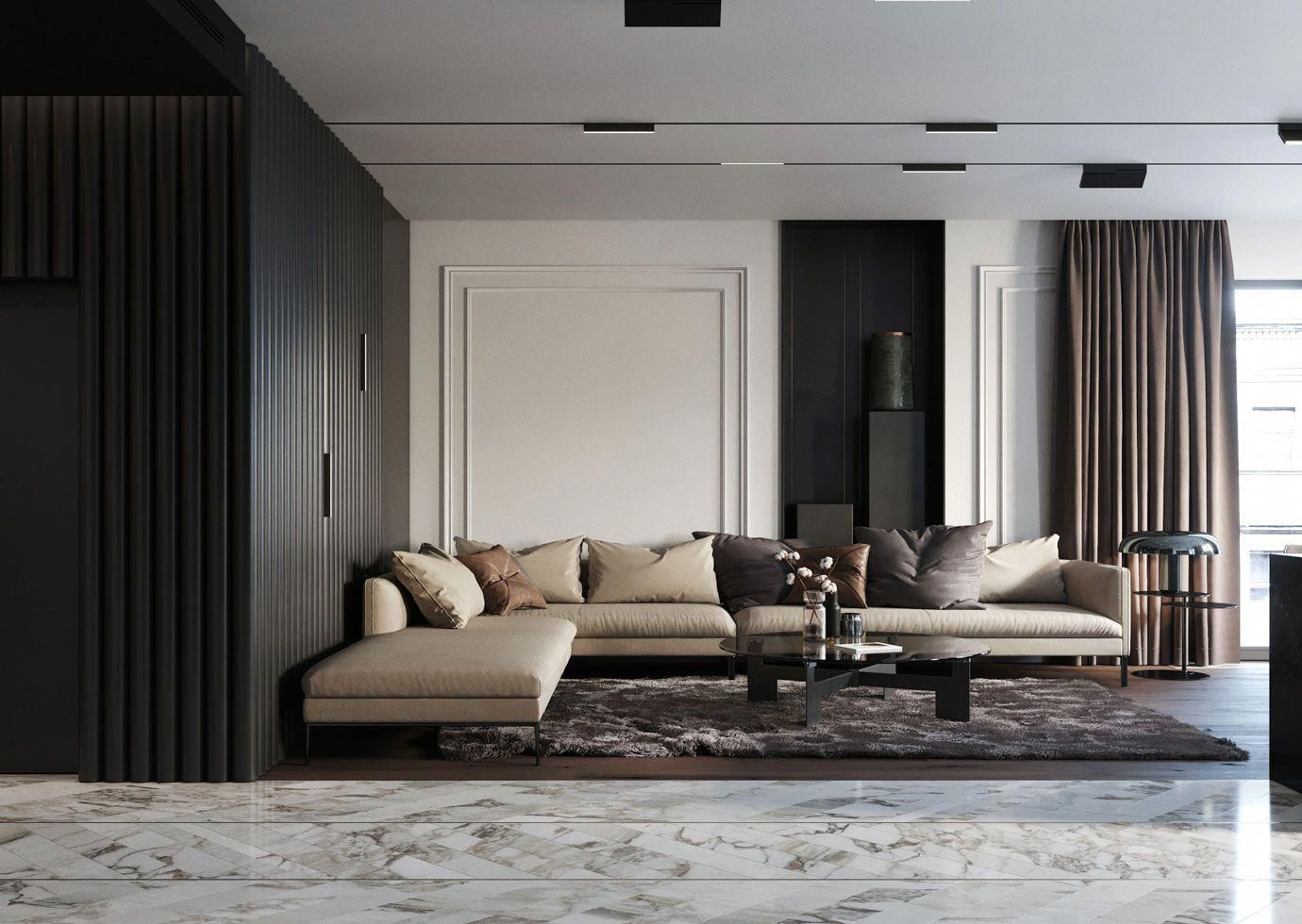 Searching For Inspiration To Create Your Dream Living Room Design Our Designers Share Their Top Black Walls Living Room Living Room Grey Dark Grey Living Room