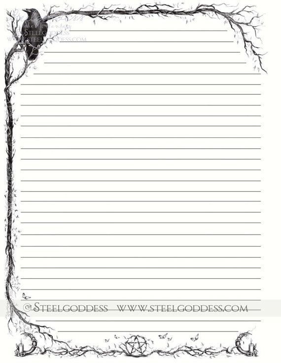 It is a graphic of Clever Free Printable Stationary With Lines and Borders