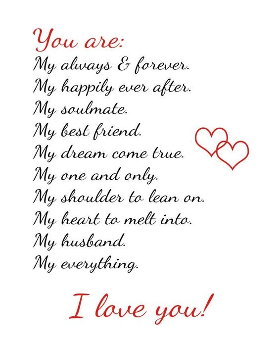 You Are My Always And Forever