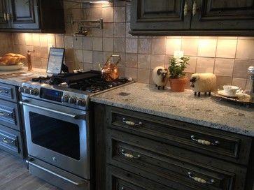 Traditional Andino White Granite Kitchen Design Ideas Pictures Remodel And Decor White Granite Kitchen White Granite Granite Kitchen