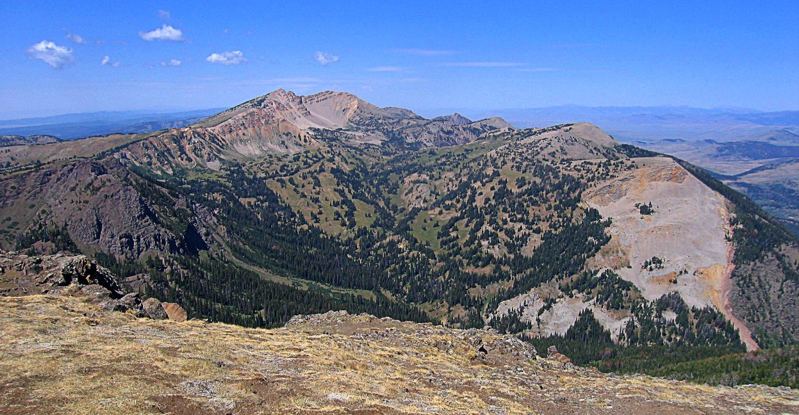 Centennial Range, Idaho and Montana from Sawtelle Peak, Island Park, Idaho by RocDocTravel.com