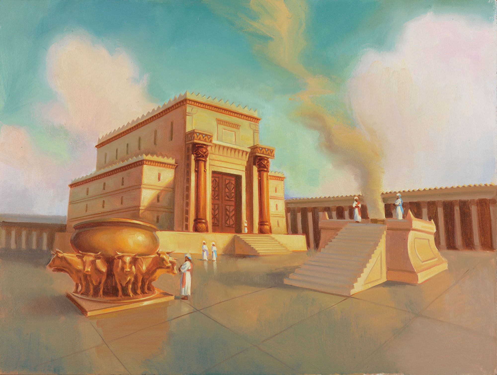 depiction of solomons temple muviana research cities