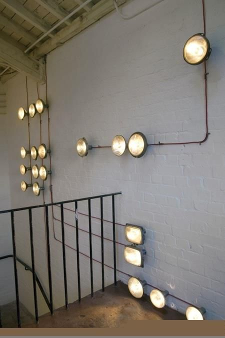 Industrial Wall Climbing Lights Interior Lighting Stairway Lighting Slow Design