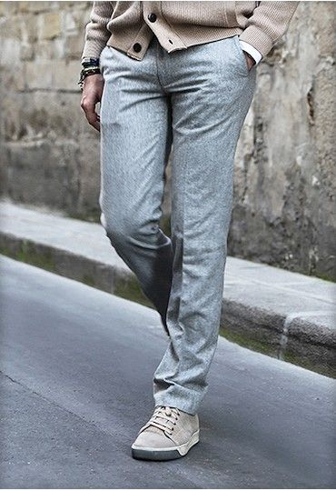 Pantalon en flanelle (Vitale Barberis Canonico) BG-2.2 - BonneGueule  http   shop.bonnegueule.fr home 40-pantalon-en-flanelle-de-laine-bg-22.html 15e428b6cf6