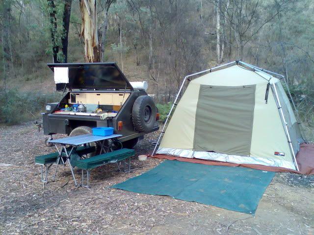 Camping Setup Ideas