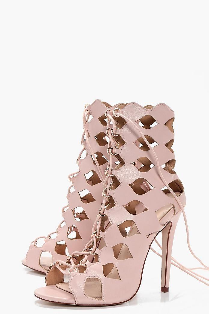 d2a174251e1c2 Zoe Cage Ghillie Lace Up Heels | Cape town | Lace Up Heels, Heels, Lace