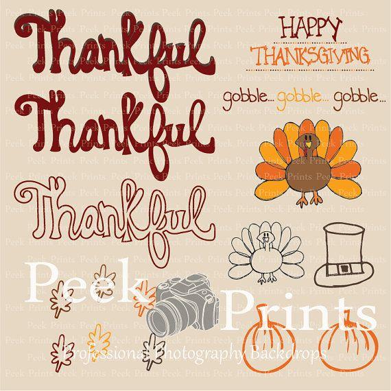 Peek Pack Thankful Fall Photo Card Template/Mini by PeekPrints