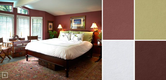 Bon Bedroom Color Ideas: Paint Schemes And Palette Mood Board: Benjamin Moore  Southwest Pottery 048