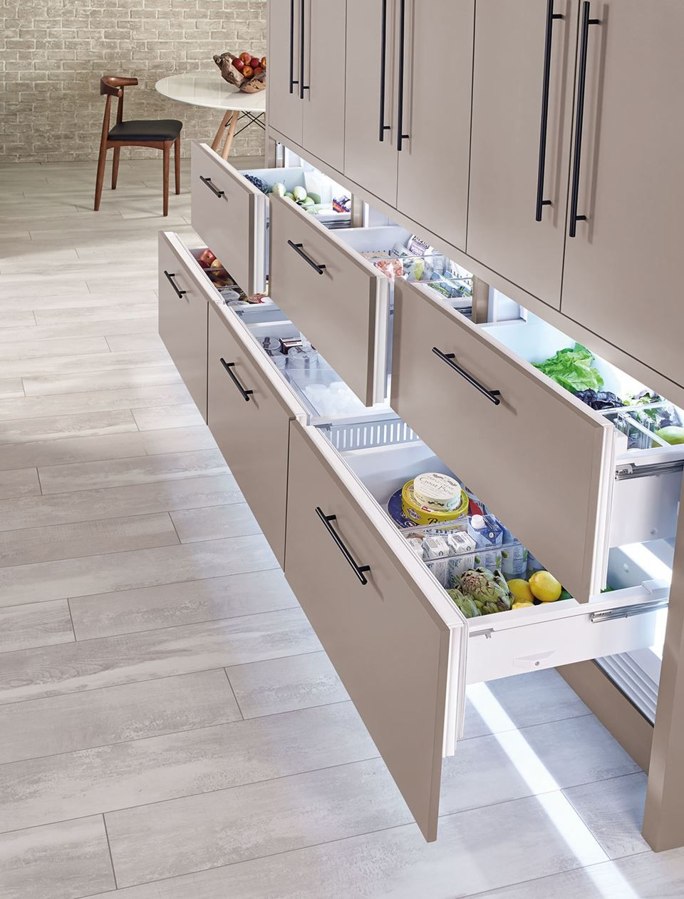 Sub Zero Undercounter Refrigeration Has Compact Counter Refrigerator Options That Can Have Custom Panels L Home Decor Kitchen Home Kitchens Kitchen Renovation