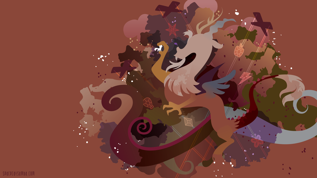 Discord Silhouette Wall By Spacekitty On Deviantart My Little Pony Pictures My Little Pony Comic My Little Pony Wallpaper
