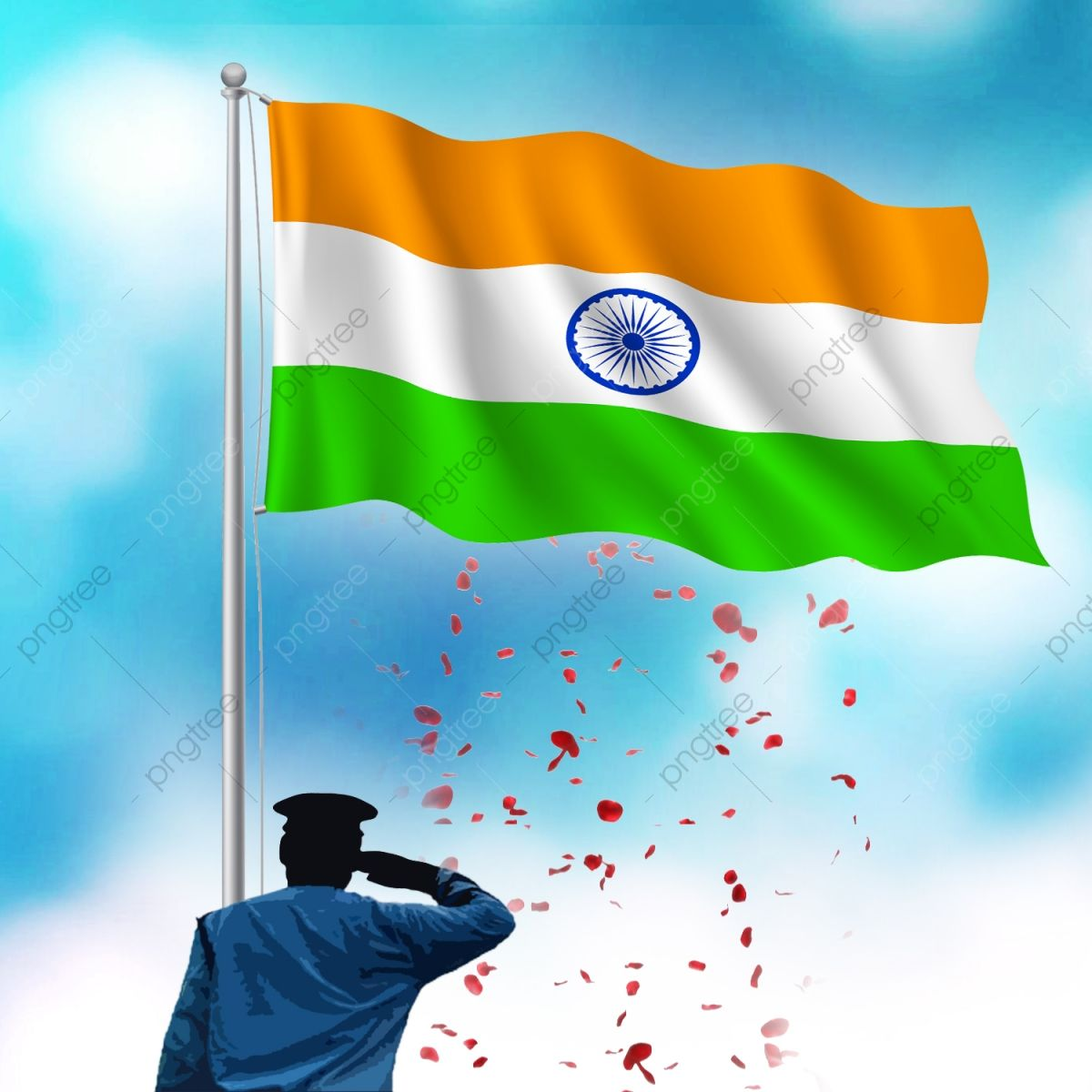 Download This Indian Flag Republic Day Independence Day Vector Png Clipart Image Happy Independence Day India Independence Day Images Independence Day India