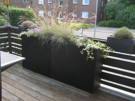 Elemento Garten Kubel Pflanzen Und Terrasse