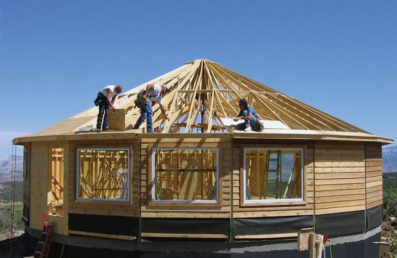 Faq Can I Still Build This Year Building Timeline Deltec Homes In 2020 Round House Plans Prefabricated Houses Round House